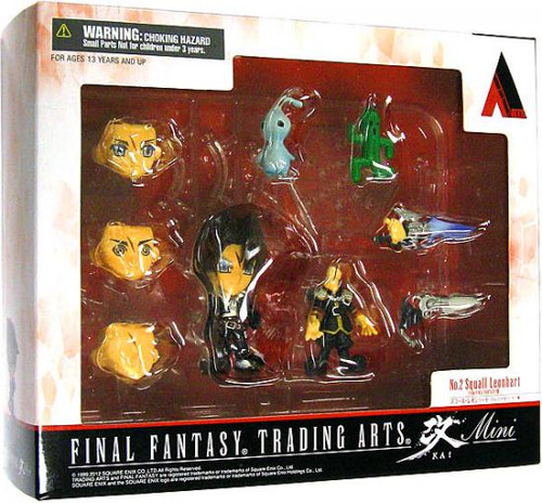 Final Fantasy Trading Arts Kai Squall 3-Inch Mini Figure