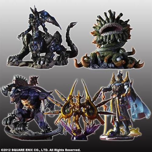 Final Fantasy I Creatures Kai Volume 4 Set of 5 PVC Figures