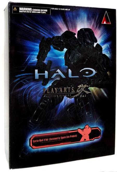 Halo Reach Play Arts Kai Red Spartan Action Figure [Mark V]