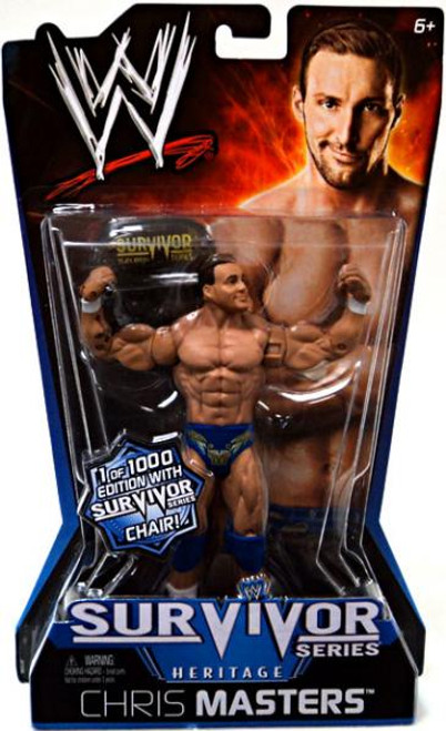 WWE Wrestling Pay Per View Series 11 Survivor Series Heritage Chris Masters Action Figure [With Chair]