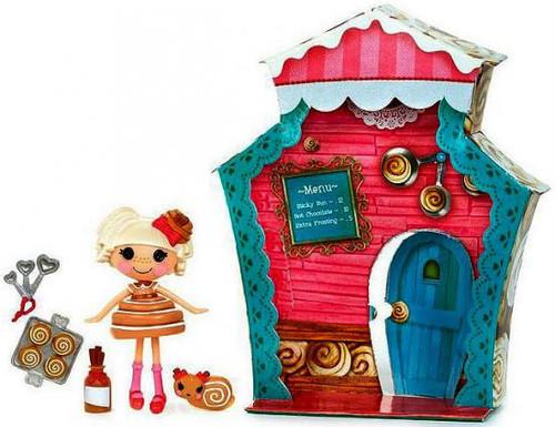 Lalaloopsy Mini Sweet Shop Bun Bun Sticky Icing Mini Figure Playset