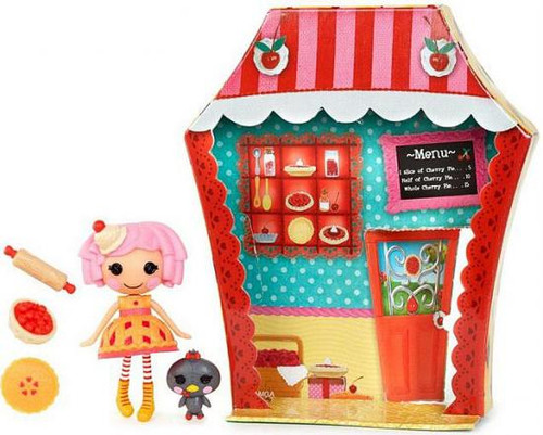 Lalaloopsy Mini Sweet Shop Cherry Crisp Crust Mini Figure Playset