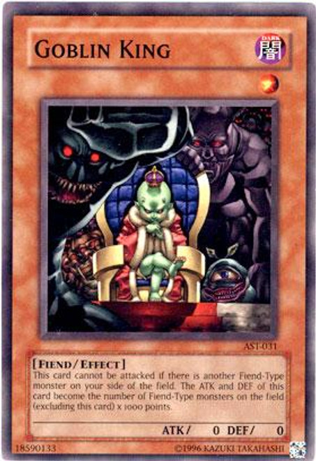 YuGiOh Ancient Sanctuary Common Goblin King AST-031