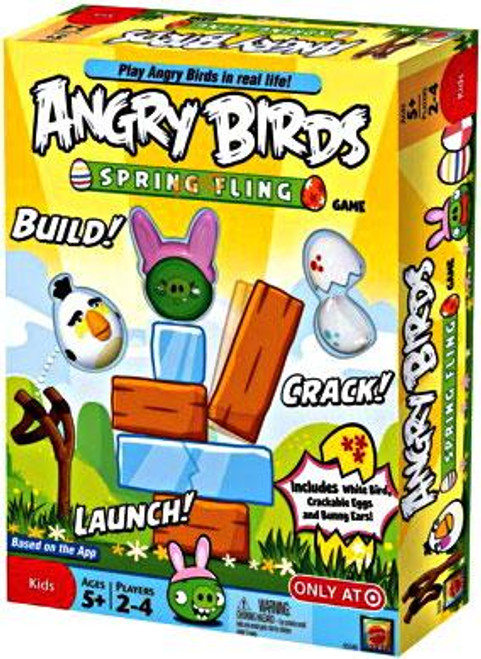 Angry Birds Spring Fling Exclusive Game