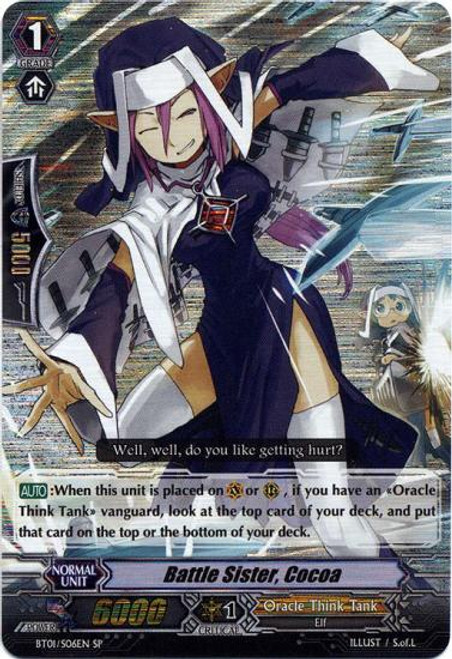Cardfight Vanguard Descent of the King of Knights SP Battle Sister, Cocoa BT01-S06