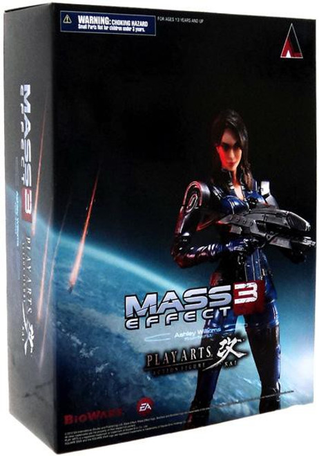 Mass Effect 3 Play Arts Kai Ashley Williams Action Figure