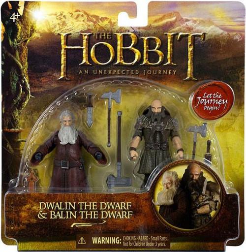 The Hobbit An Unexpected Journey Dwalin & Balin Action Figure 2-Pack