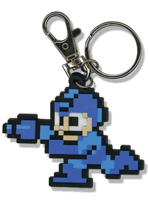 Mega Man 10 Retro 8-Bit Style Mega Man Keychain