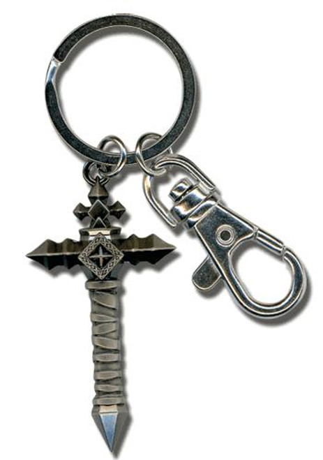 Castlevania Lords of Shadow Combat Cross Metal Keychain