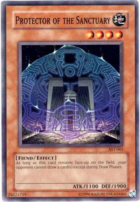 YuGiOh Ancient Sanctuary Common Protector of the Sanctuary AST-065