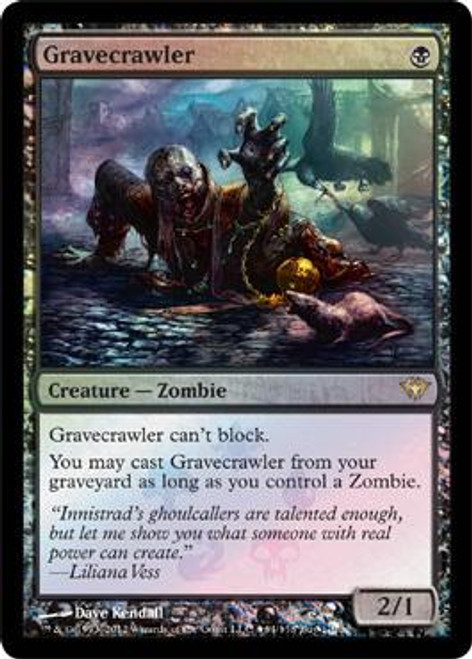MtG Assorted Promo Cards Promo Gravecrawler [Dark Ascension Box Promo]