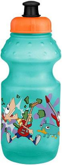 Disney Phineas and Ferb 15 oz. Pull Top Sport Water Bottle