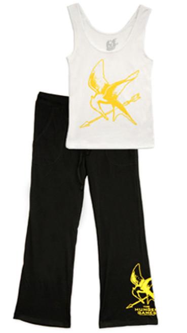 NECA The Hunger Games Mockingjay Women's Pajama Set [L]