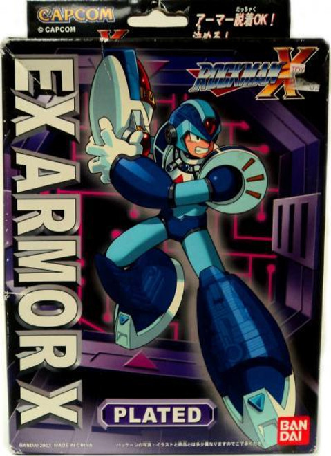 Mega Man X Mega Armor Series EX Armor X Plated Model Kit [Damaged Package]