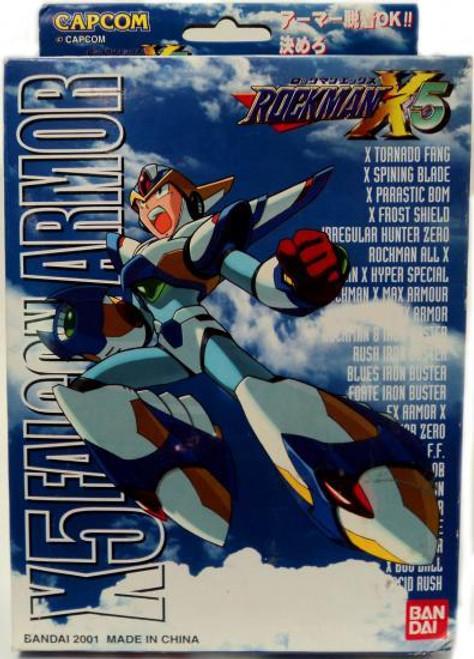 Mega Man X Mega Armor Series X5 Falcon Armor Model Kit