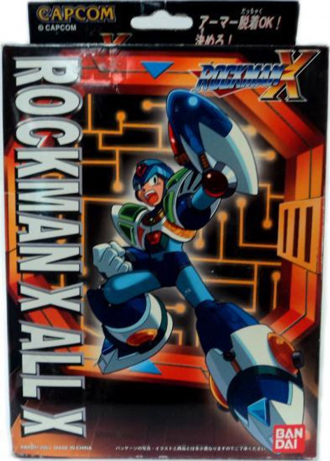 Mega Man X Mega Armor Series All X Model Kit