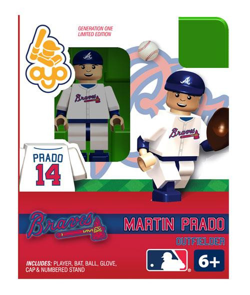 Atlanta Braves MLB Generation One Martin Prado Minifigure