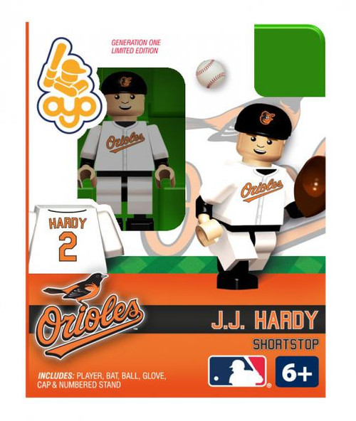 Baltimore Orioles MLB Generation One J.J. Hardy Minifigure