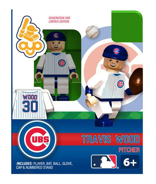 Chicago Cubs MLB Generation One Travis Wood Minifigure