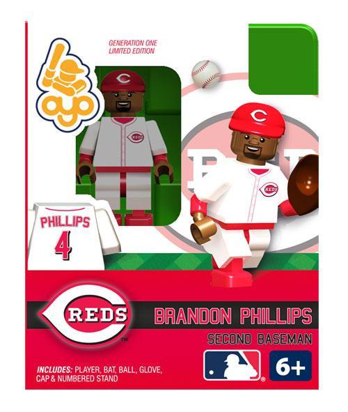 Cincinnati Reds MLB Generation One Brandon Phillips Minifigure
