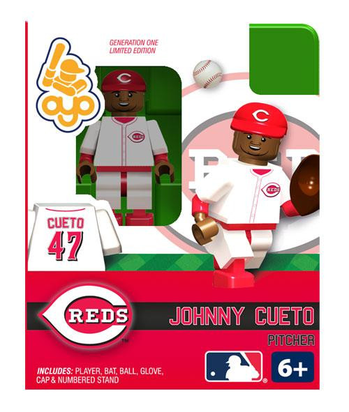 Cincinnati Reds MLB Generation One Johnny Cueto Minifigure