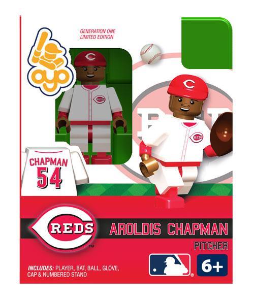 Cincinnati Reds MLB Generation One Aroldis Chapman Minifigure