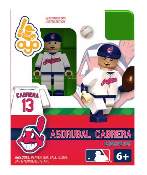 Cleveland Indians MLB Generation One Asdrubal Cabrera Minifigure