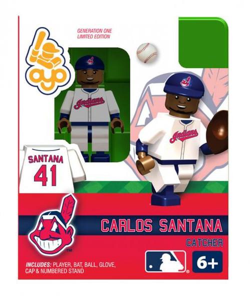 Cleveland Indians MLB Generation One Carlos Santana Minifigure