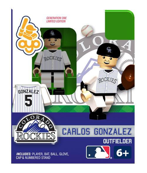 Colorado Rockies MLB Generation One Carlos Gonzalez Minifigure