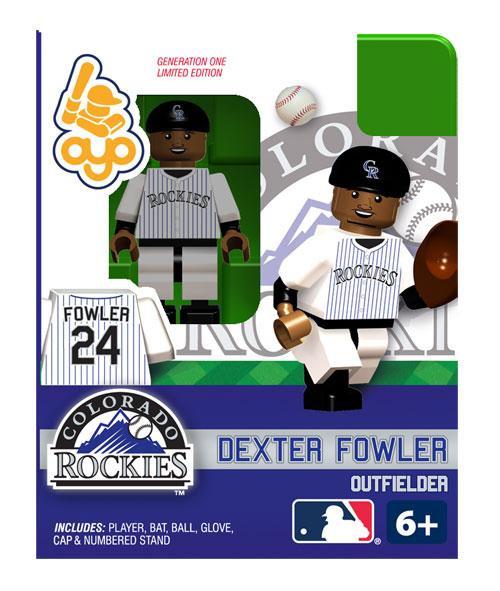Colorado Rockies MLB Generation One Dexter Fowler Minifigure