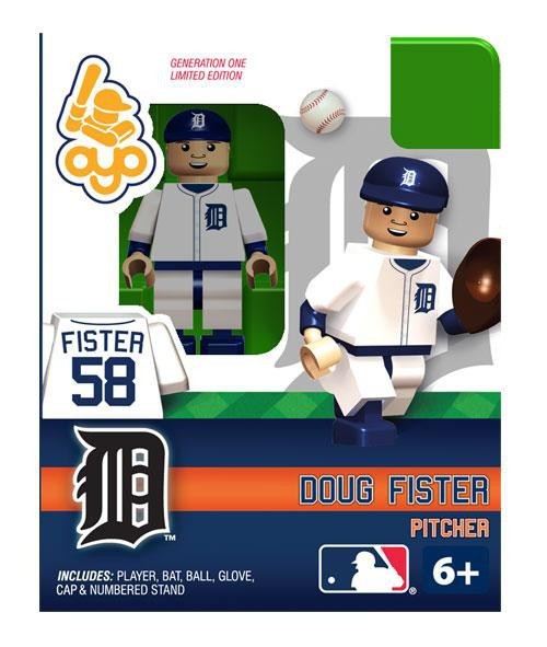 Detroit Tigers MLB Generation One Doug Fister Minifigure