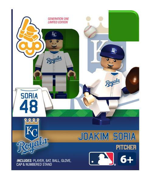 Kansas City Royals MLB Generation One Joakim Soria Minifigure
