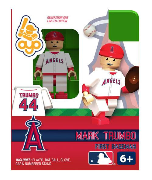 Angels of Anaheim MLB Generation One Mark Trumbo Minifigure