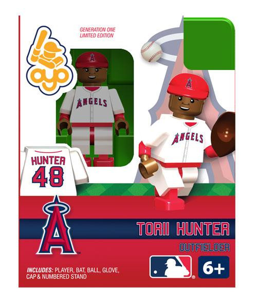 Angels of Anaheim MLB Generation One Torii Hunter Minifigure