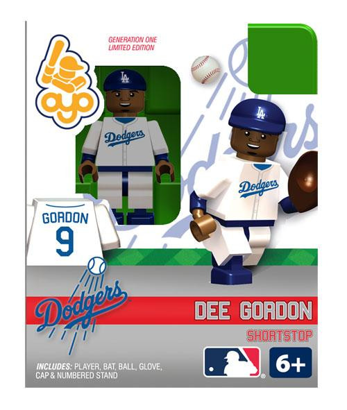 Los Angeles Dodgers MLB Generation One Dee Gordon Minifigure