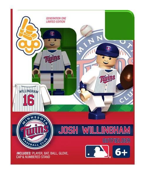 Minnesota Twins MLB Generation One Josh Wilingham Minifigure