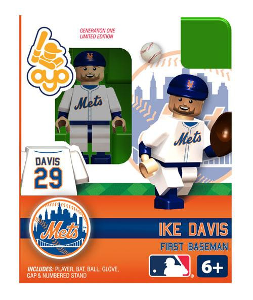 New York Mets MLB Generation One Ike Davis Minifigure
