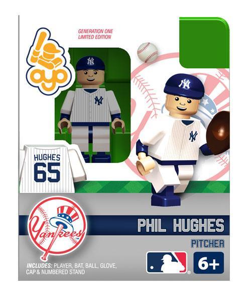 New York Yankees MLB Generation One Phil Hughes Minifigure