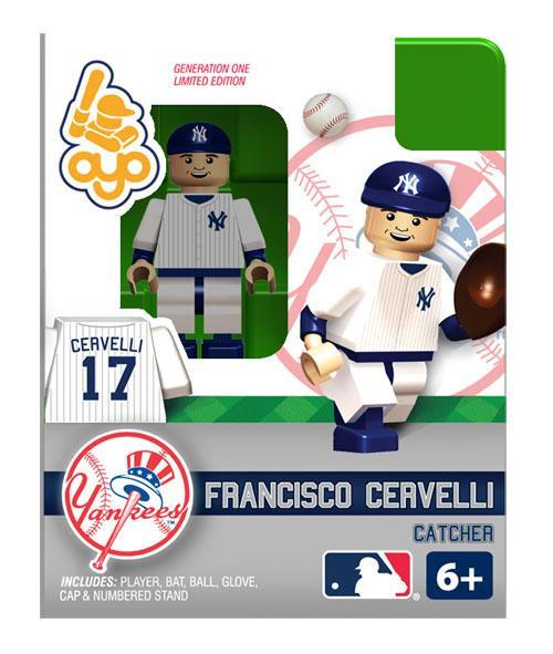 New York Yankees MLB Generation One Francisco Cervelli Minifigure
