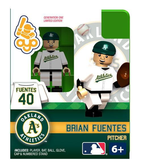 Oakland A's MLB Generation One Brian Fuentes Minifigure
