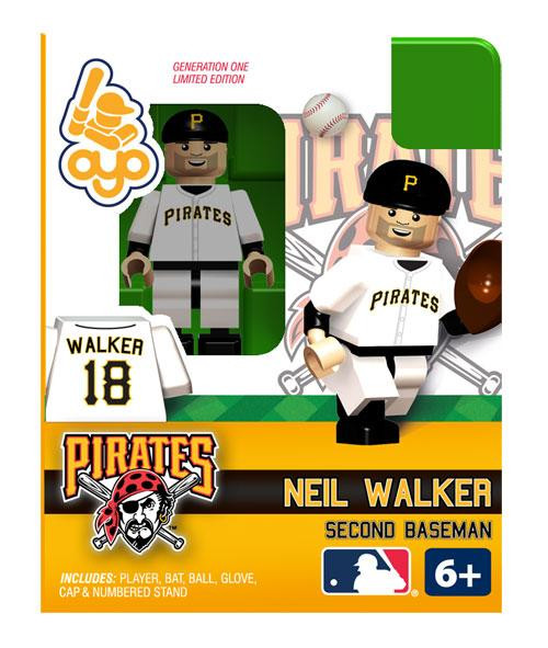Pittsburgh Pirates MLB Generation One Neil Walker Minifigure