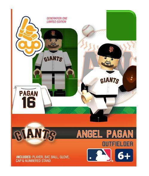 San Francisco Giants MLB Generation One Angel Pagan Minifigure