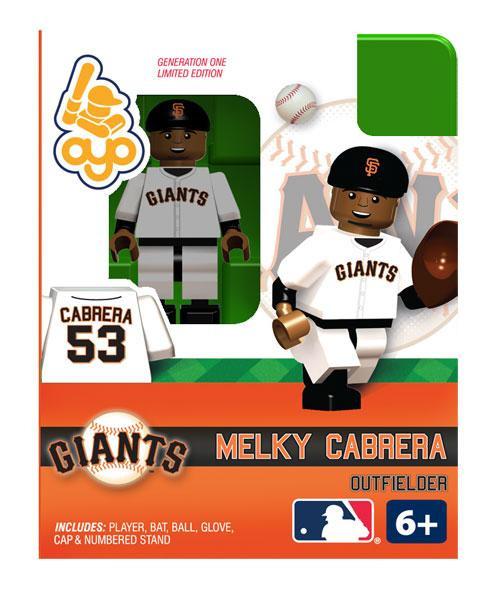 San Francisco Giants MLB Generation One Melky Cabrera Minifigure