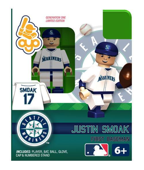 Seattle Mariners MLB Generation One Justin Smoak Minifigure