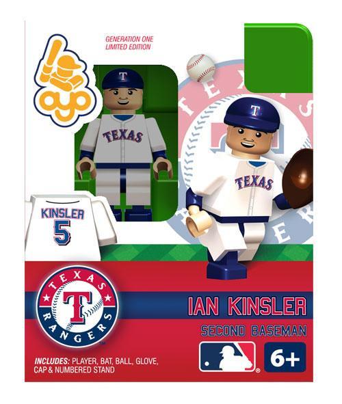 Texas Rangers MLB Generation One Ian Kinsler Minifigure
