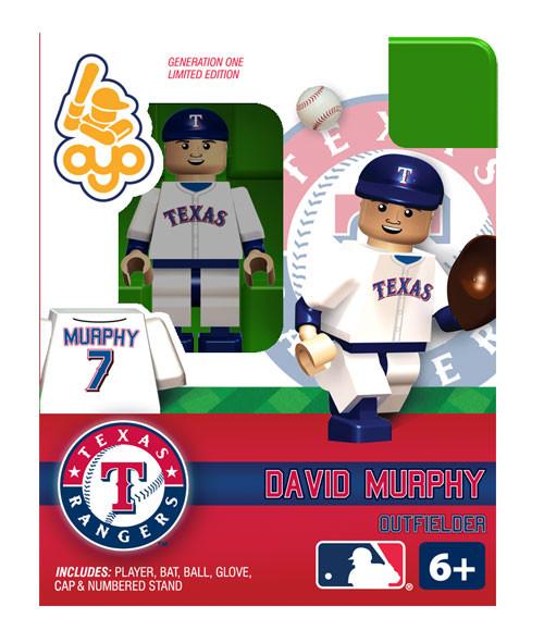 Texas Rangers MLB Generation One David Murphy Minifigure