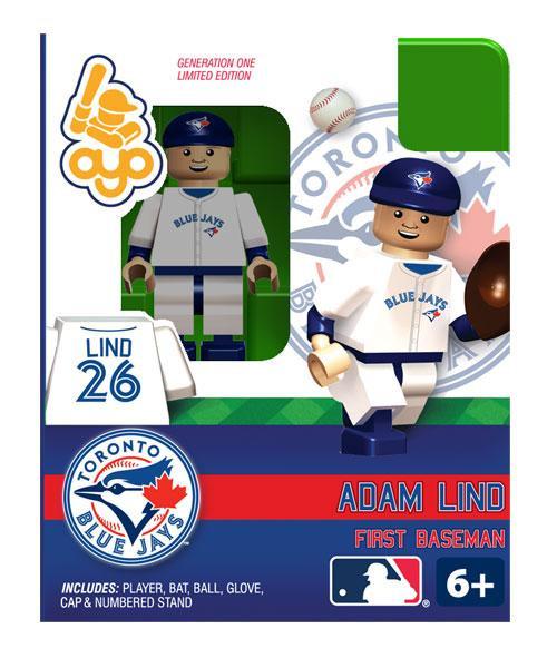 Toronto Blue Jays MLB Generation One Adam Lind Minifigure