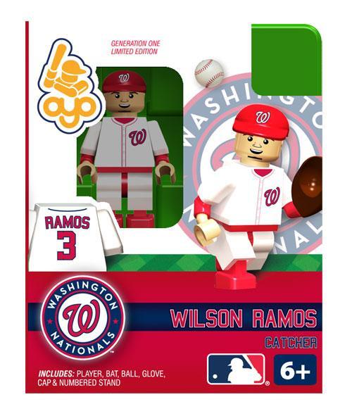 Washington Nationals MLB Generation One Wilson Ramos Minifigure