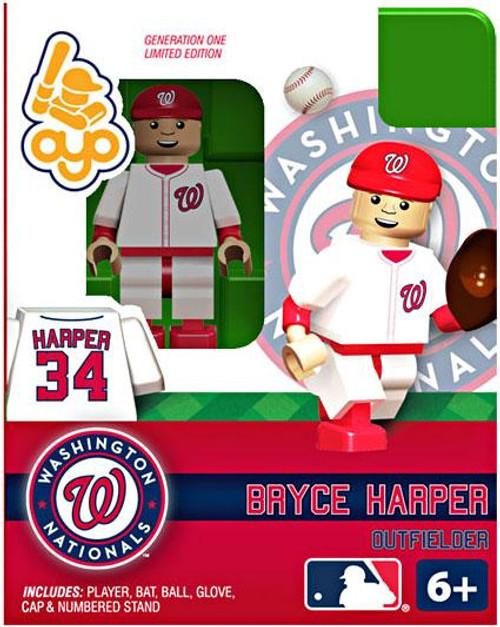Washington Nationals MLB Generation One Bryce Harper Minifigure