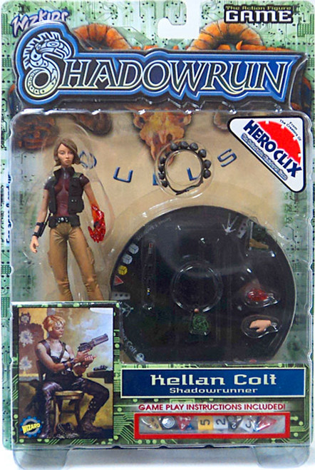 Shadowrun Duels Series 1 Kellan Colt Exclusive Action Figure